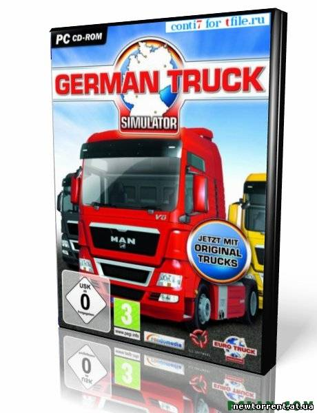 German Truck Simulator (2010 / RUS)