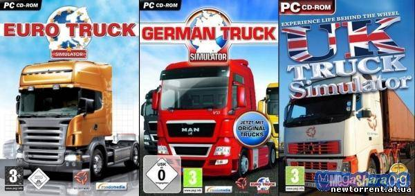 Truck Simulator Collection [Euro Truck, German Truck, UK Truck] (2008-2010) PC
